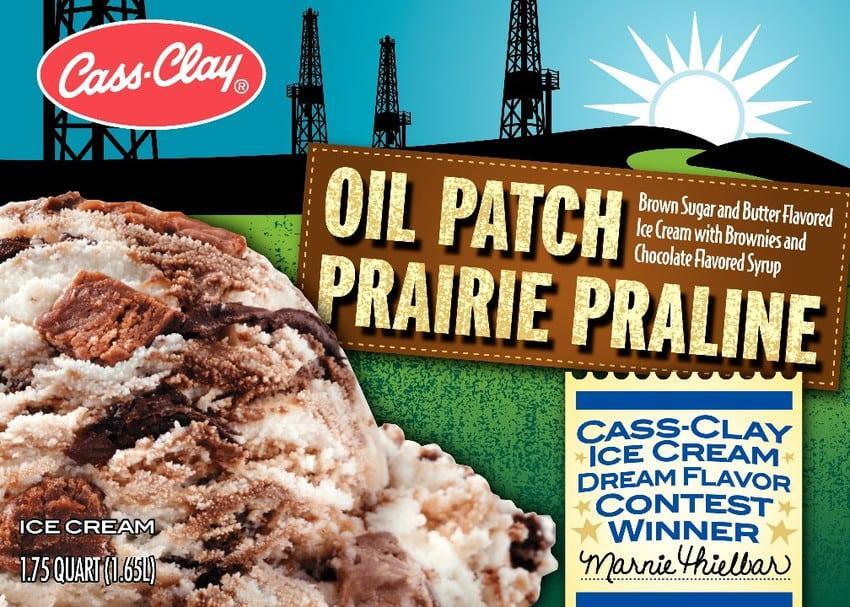 (56 oz.) Oil Prairie Praline Ice Cream