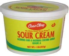 Sour Cream  (16 oz.)