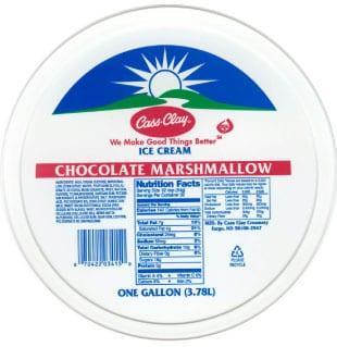 (4 qt.) Chocolate Marshmallow Reduced Fat Ice Cream