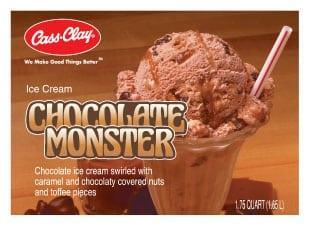 (56 oz.) Chocolate Monster Ice Cream