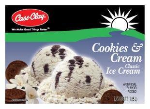 (56 oz.) Cookies & Cream Ice Cream