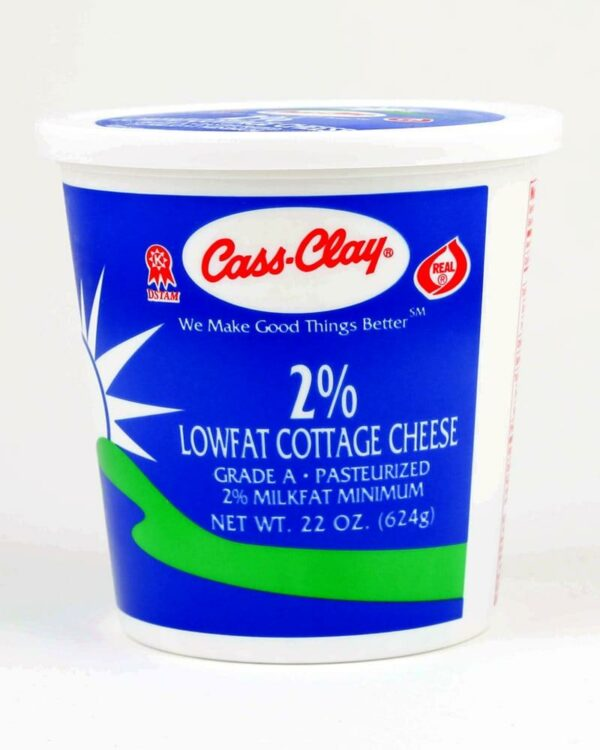 2% Lowfat Cottage Cheese (22 Oz.)