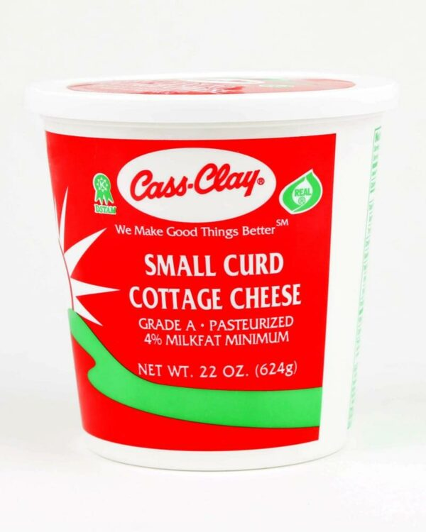 4 Cottage Cheese 16 Oz Cass Clay Creamery