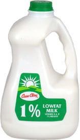 1% Lowfat Milk  (EZ Grip Plastic 97oz.)