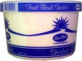 Sherbet Fruit Bowl  (48 oz.)