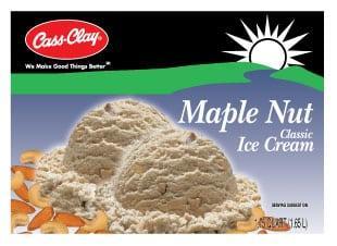 (56 oz.) Maple Nut Ice Cream