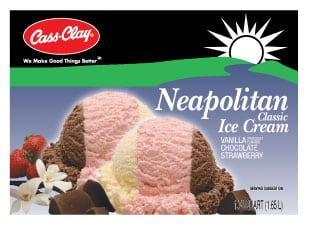 (56 oz.) Neapolitan Ice Cream