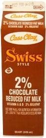 Chocolate 2% Reduced Fat Swiss Style Milk  (Paper Quart)