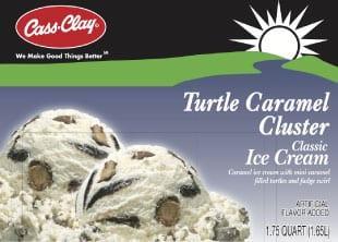 (56 oz) Turtle Caramel Cluster Ice Cream