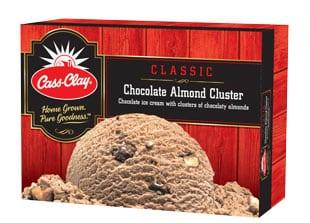 (56 oz.) Chocolate Almond Cluster Ice Cream