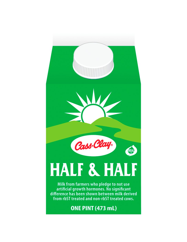 Half and Half  (Paper Pint)